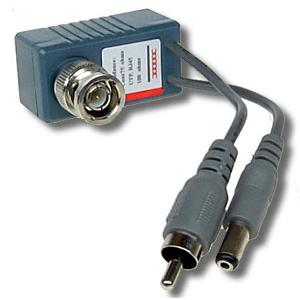 Video Balun met audio