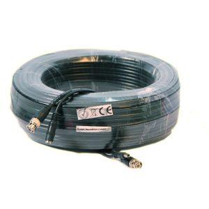 30M RG59 kabel met voeding