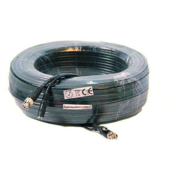 20M RG59 kabel met voeding