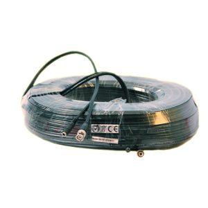 50M RG59 kabel met voeding